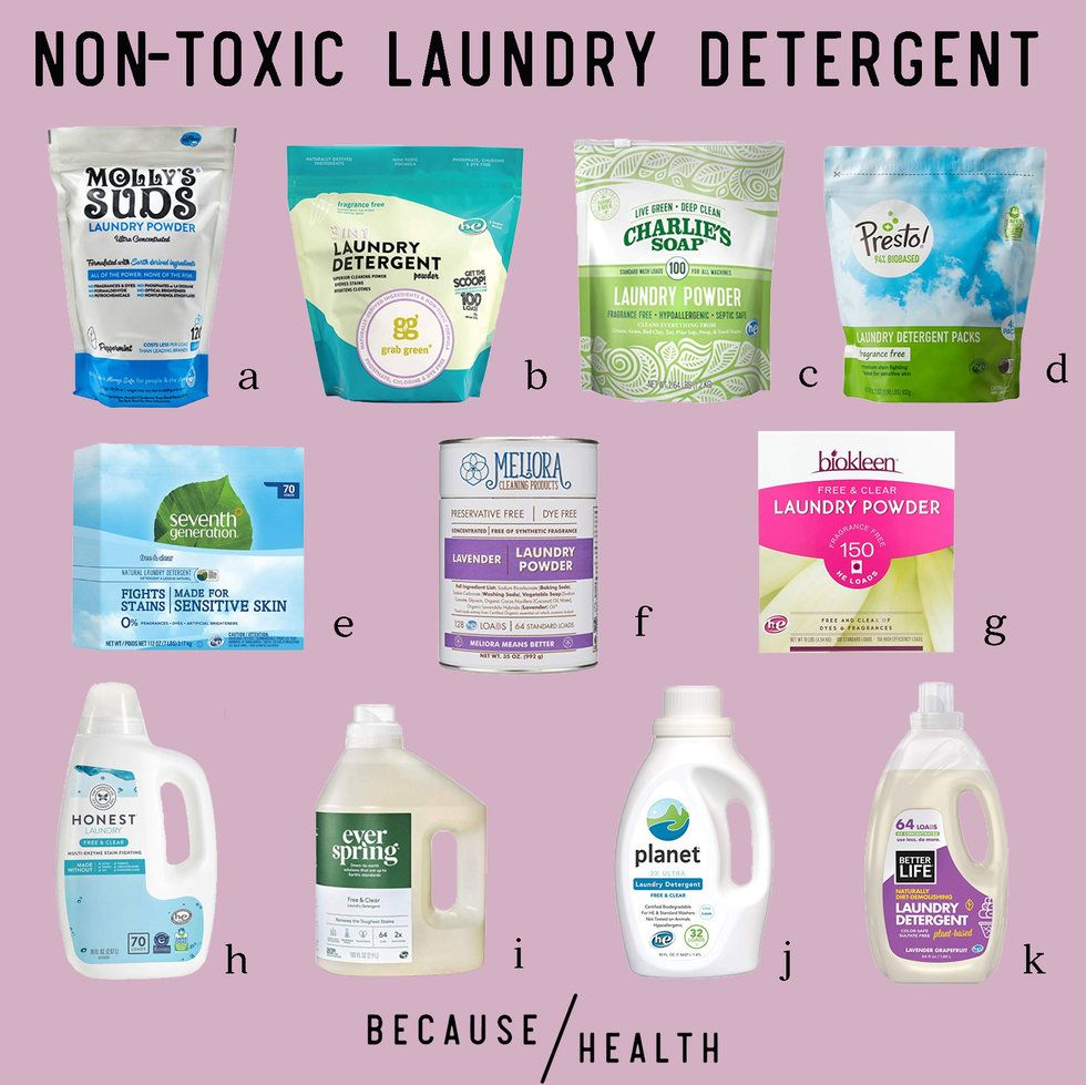 11 of the Best Non-Toxic Laundry Detergents - Because Health