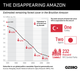 Graphic Truth: The Disappearing Amazon