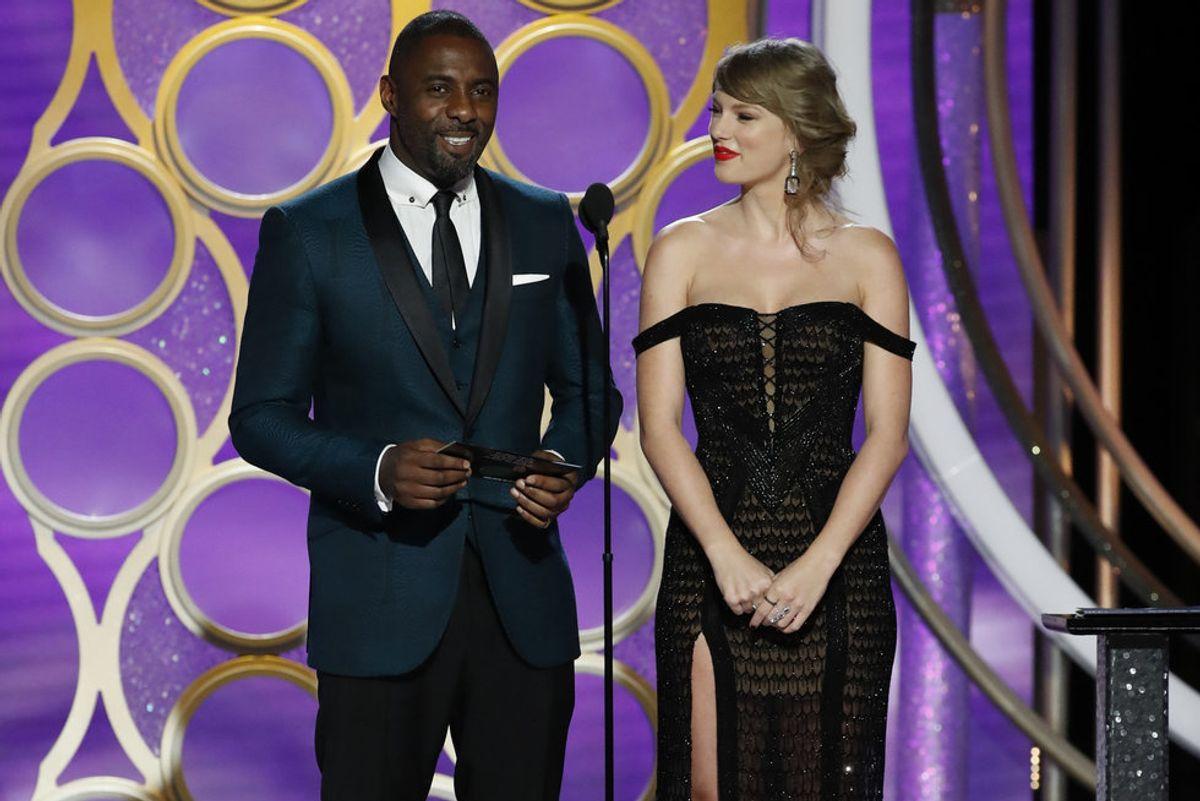 Idris Elba and James Corden Have Vocals on Taylor Swift's Album