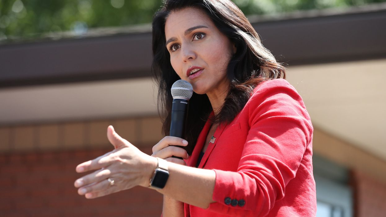 Presidential candidate and Rep. Tulsi Gabbard doubles down on her defense of Syrian dictator Assad