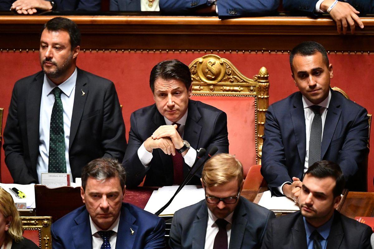 Salvini non rinuncia al sogno di rifare la coalizione gialloblù con l'amico Di Maio