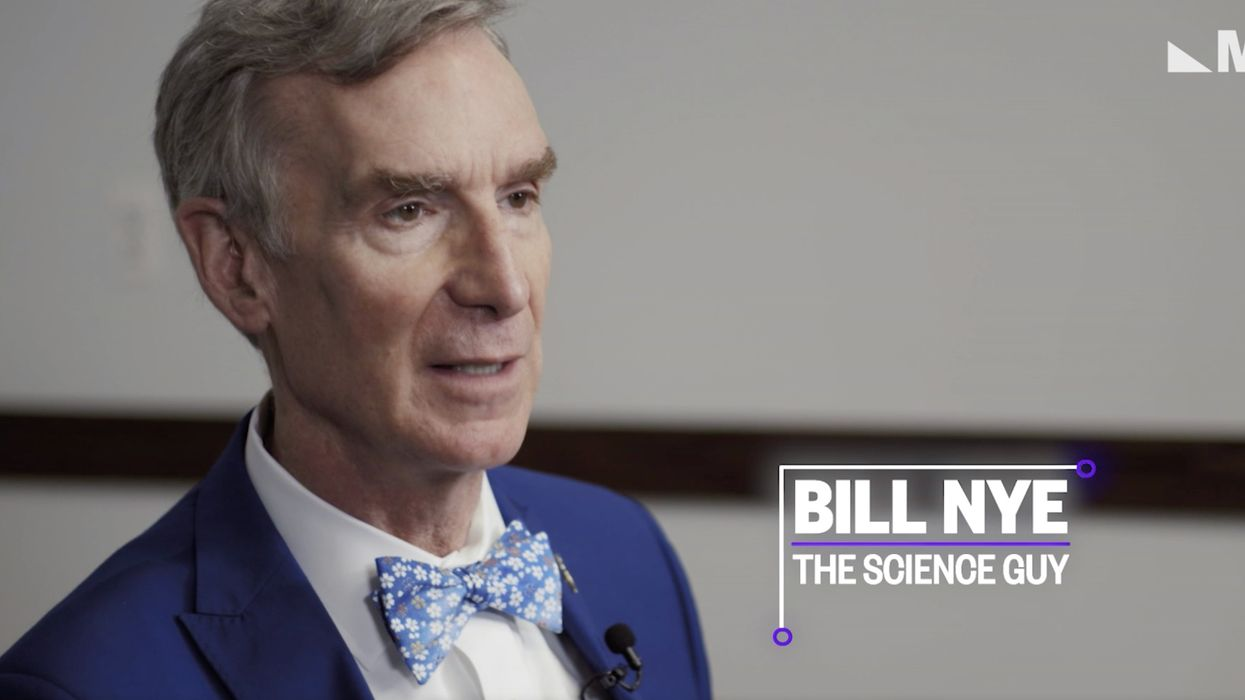 Bill Nye compares climate change deniers to flat-earthers: 'Climate denialism is almost exclusively for old people'