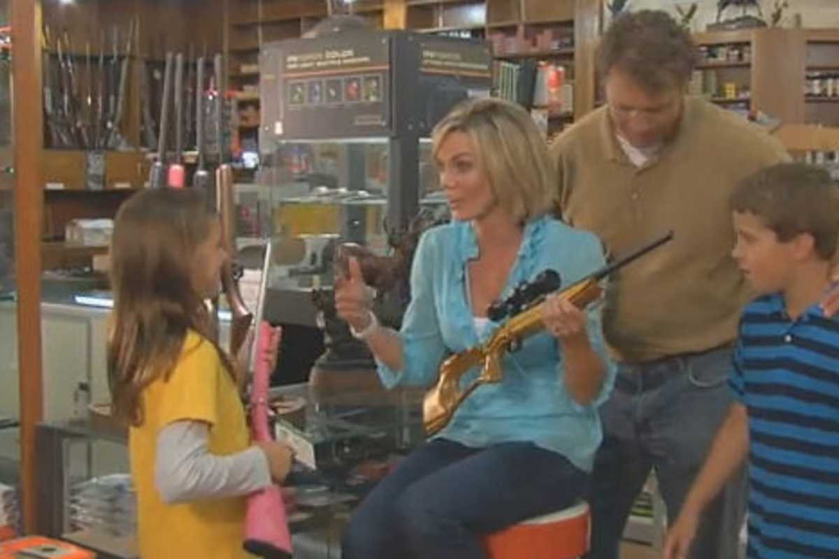 NRA lobbyist asking how to tell a 10-year-old she can't have her pink assault rifle is peak NRA