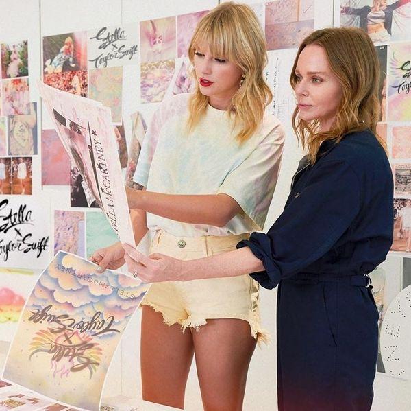 Taylor Swift Debuts Stella McCartney Collaboration