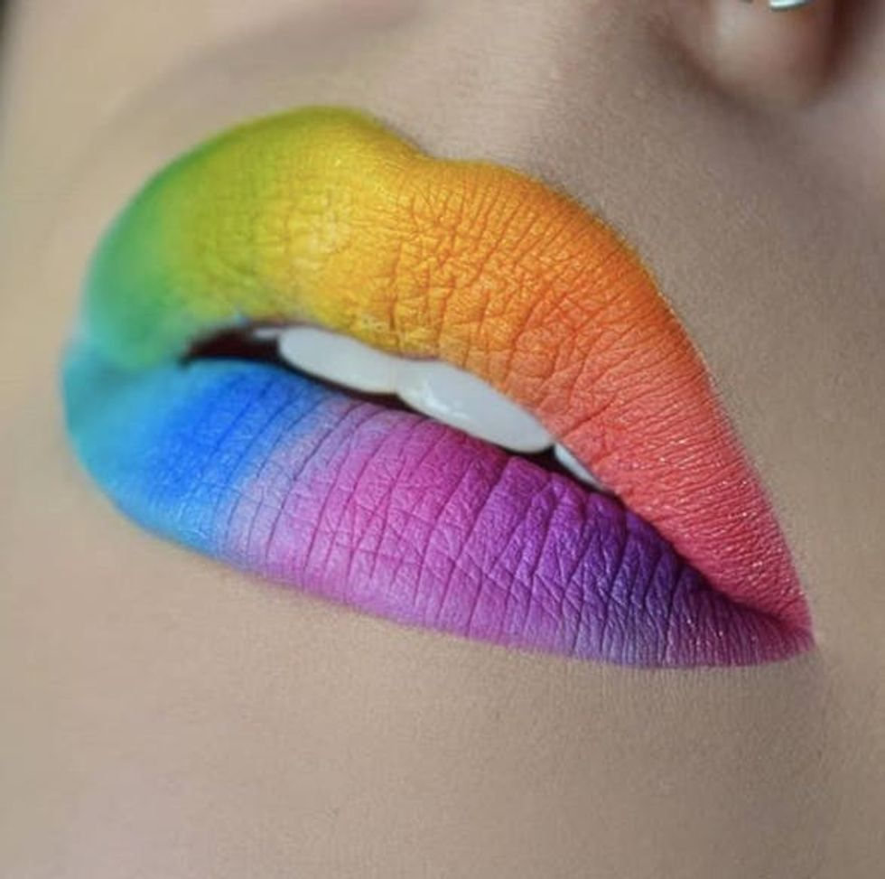 21 Insanely Intricate Lip Art Looks For Halloween Beauty Brit Co