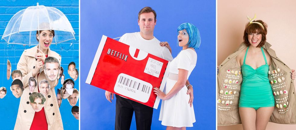Play On Words Halloween Costumes 2020 30 Ridiculously Punny Halloween Costume Ideas   Brit + Co
