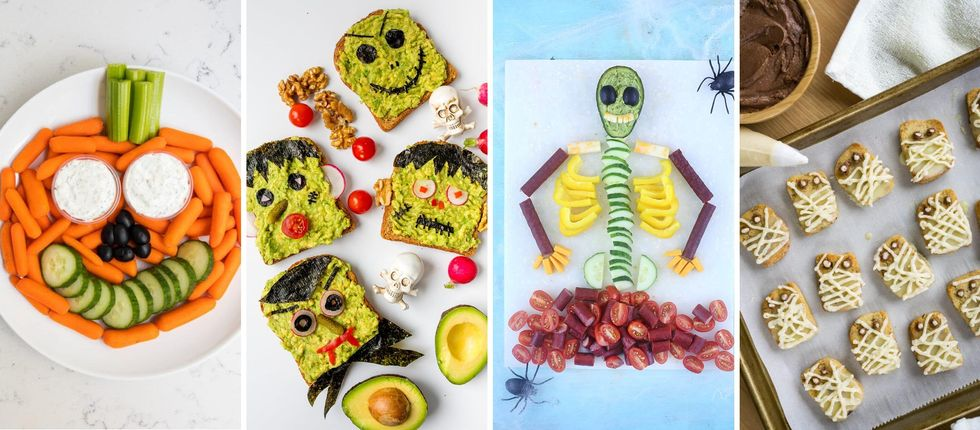 20 Healthy Halloween Snack Recipes For Eerily Good Eating Brit Co