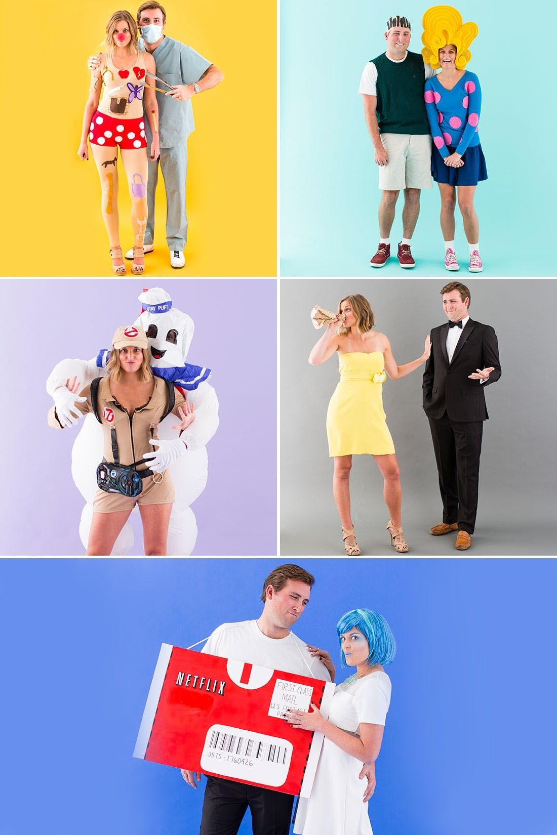 The 5 Best Diy Couples Costumes For Halloween 2015 Brit Co