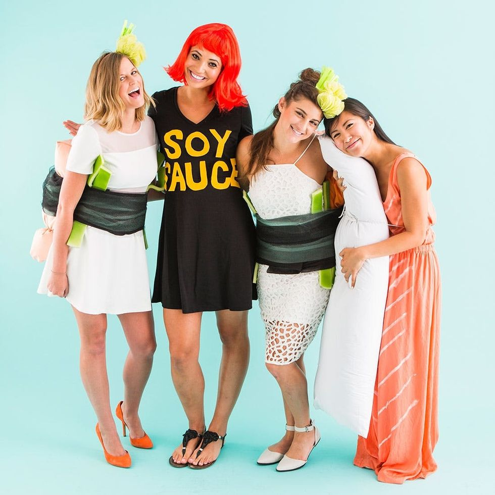 Dress Up Like Sushi For The Best Group Halloween Costume Ever Brit Co