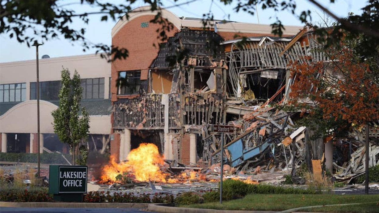 Gas Explosion Rips Through Maryland Office & Shopping Complex