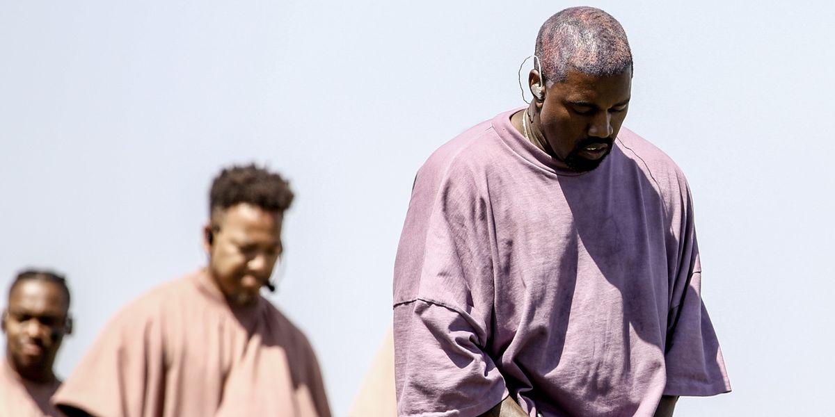Kanye Honors Dayton Victims With Sunday Service