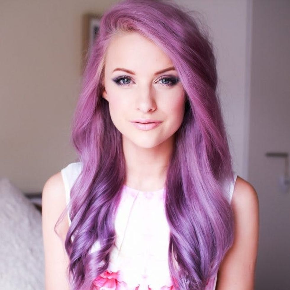 These 12 Purple Hairstyles Will Make You Want to Dye Your Hair