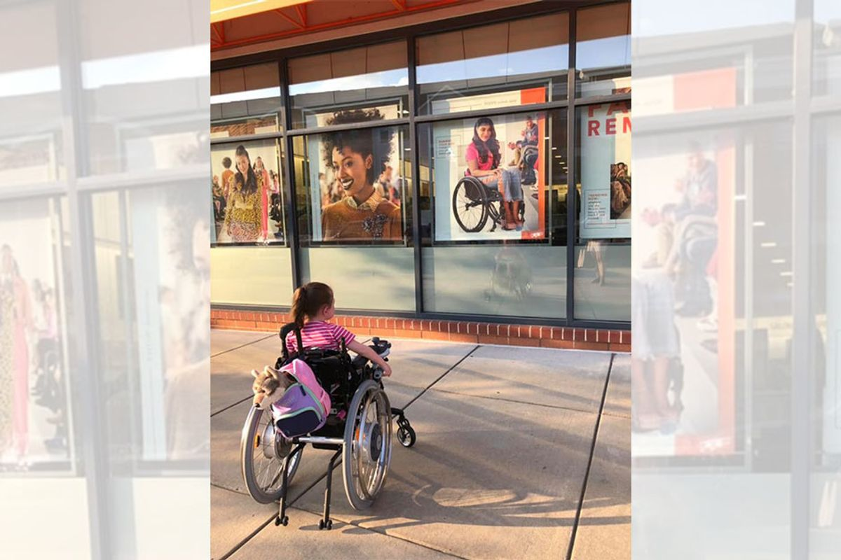 Ulta Beauty ad with woman in wheelchair captivates girl with rare disease