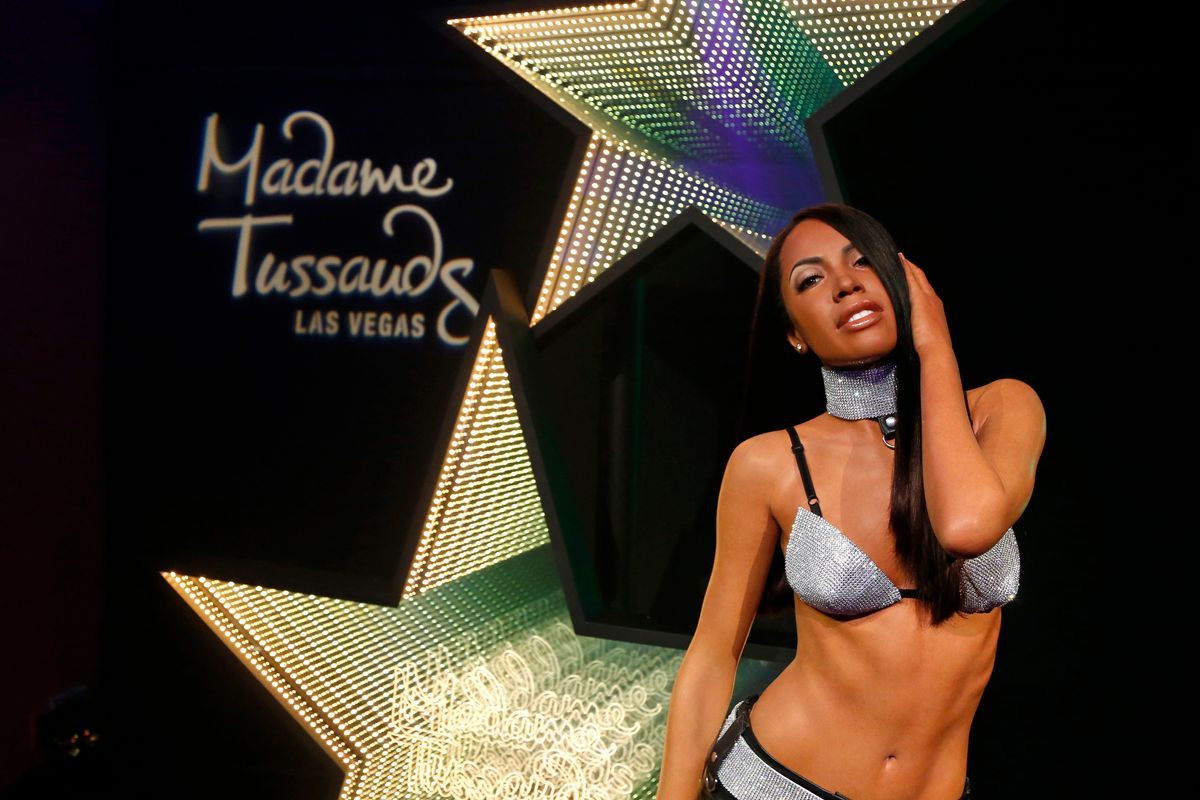 Aaliyah's Estate Asks Fans to Stop Altering Her Wax Figure
