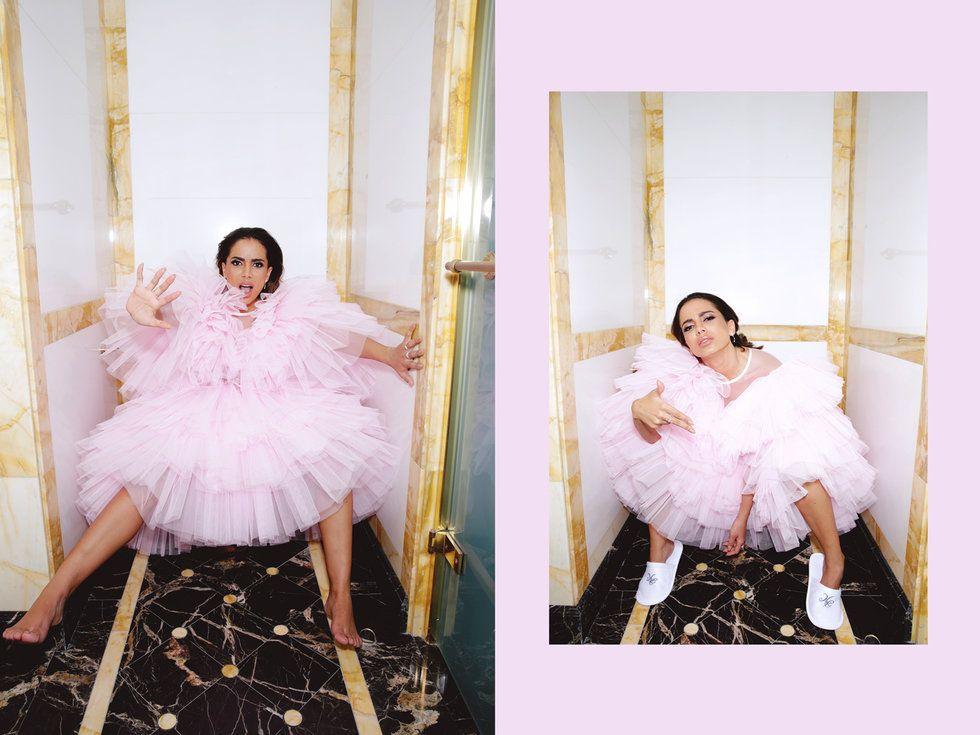 Poderosa, Anitta é capa da edição fashion da revista Nylon Espanha; veja as fotos