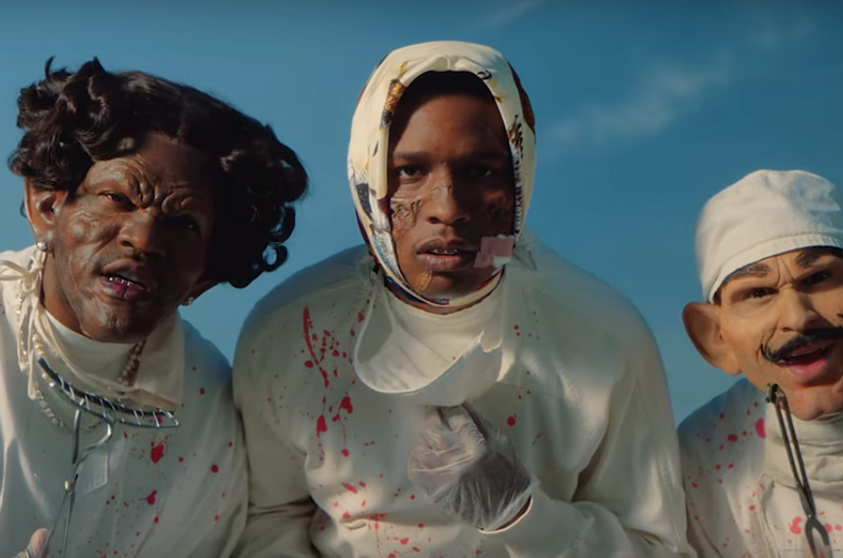 Is A$AP Rocky's New Video About His Swedish Detainment?