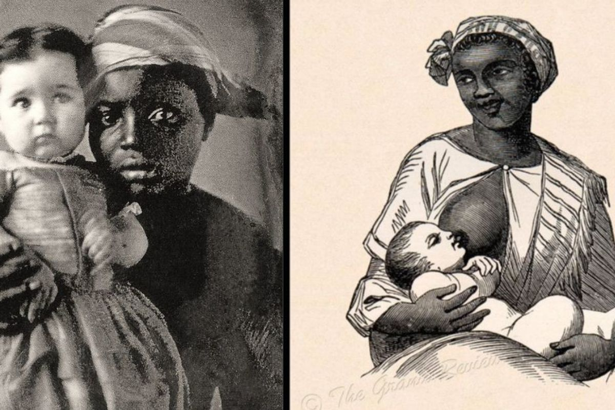 It's Black Breastfeeding Week. Wondering why? One gut-wrenching poem says it all.