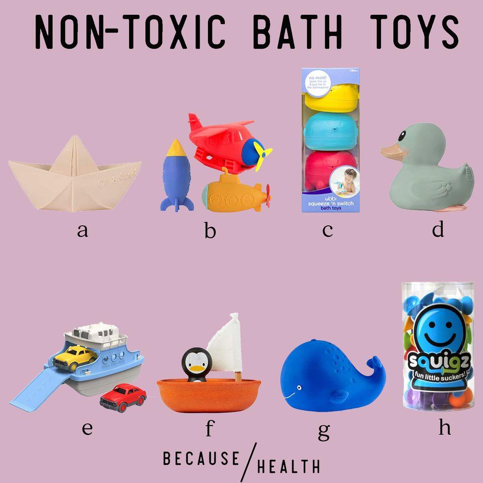 8 Non-Toxic Bath Toys