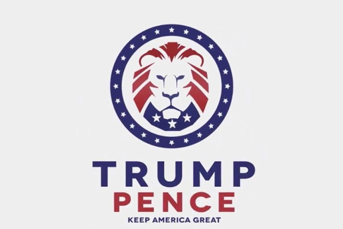 Trump tweets out campaign logo with white supremacist roots