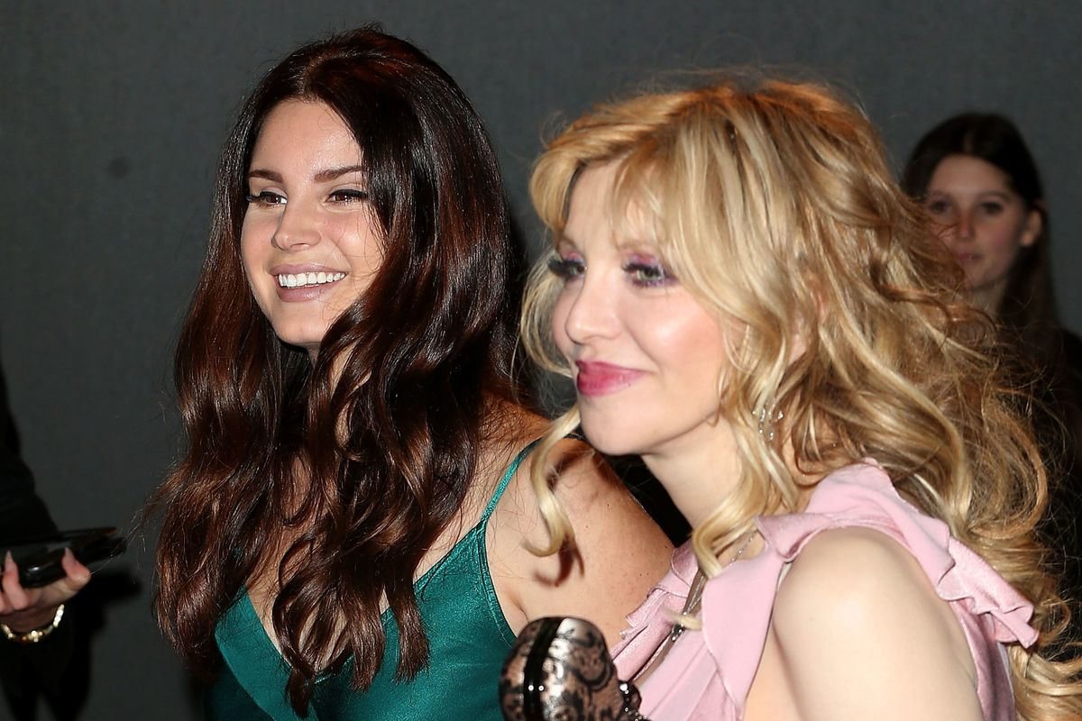 Courtney Love Criticizes Lana Del Rey's Ice Cream Truck Driver