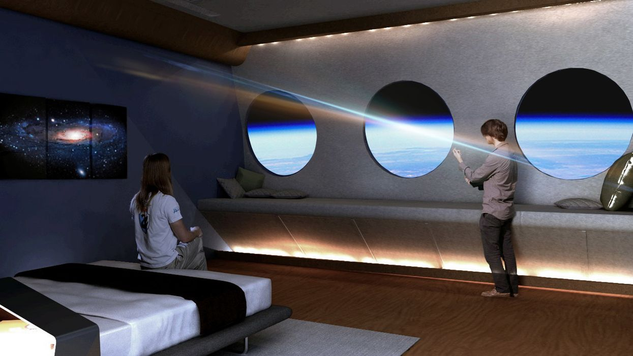 Space hotel with artificial gravity will be in orbit by 2025