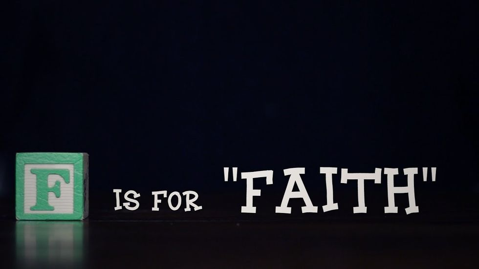 I believe in Faith, so should you