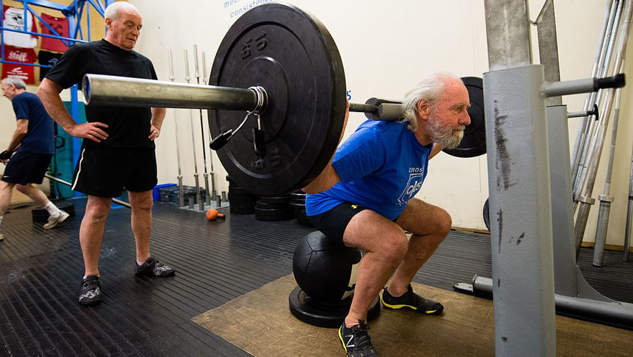 A new study shows it's never too late to begin strength building