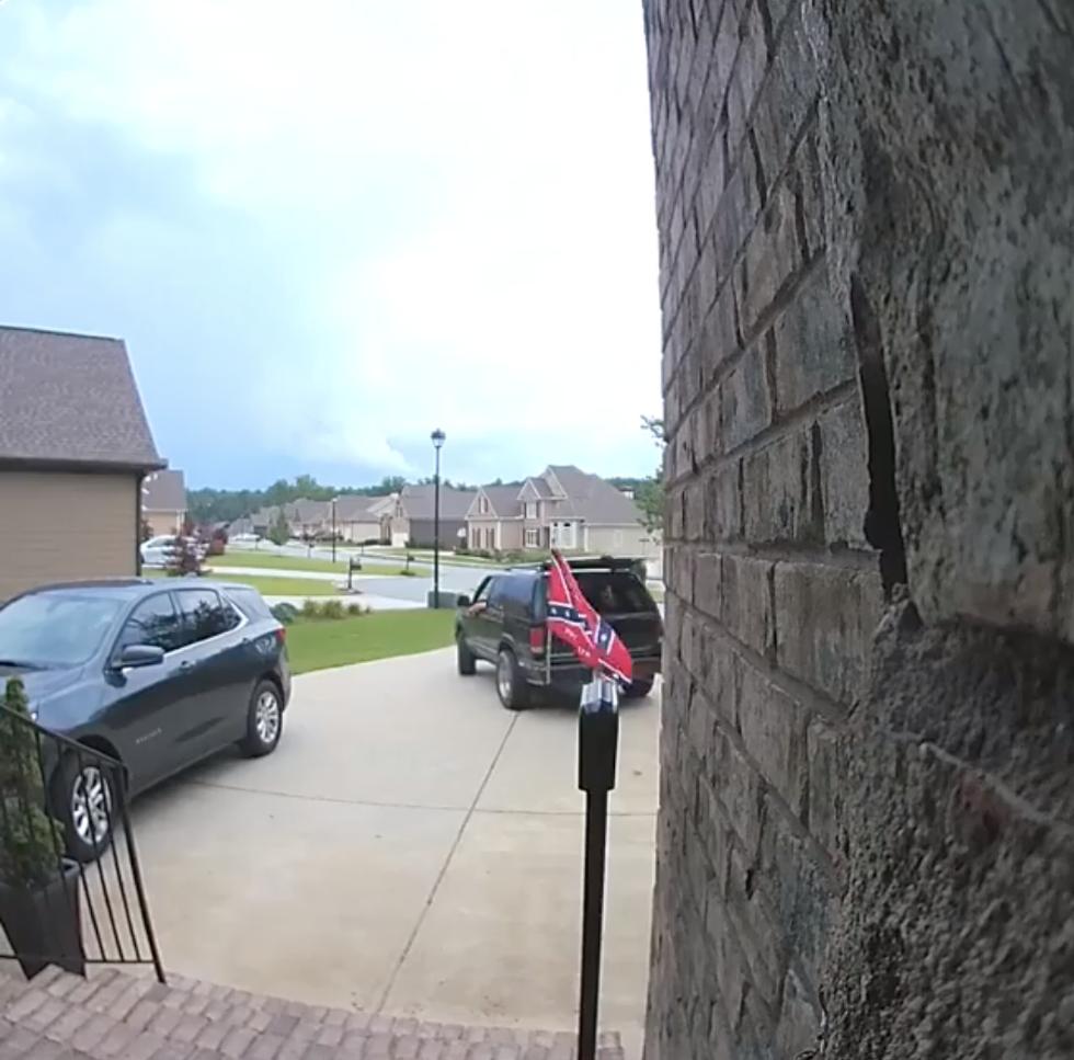 Confederate flag capture on ring cam
