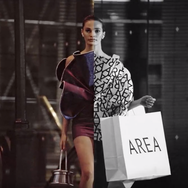 AREA Gets Nowstalgic in Glamorous New Campaign