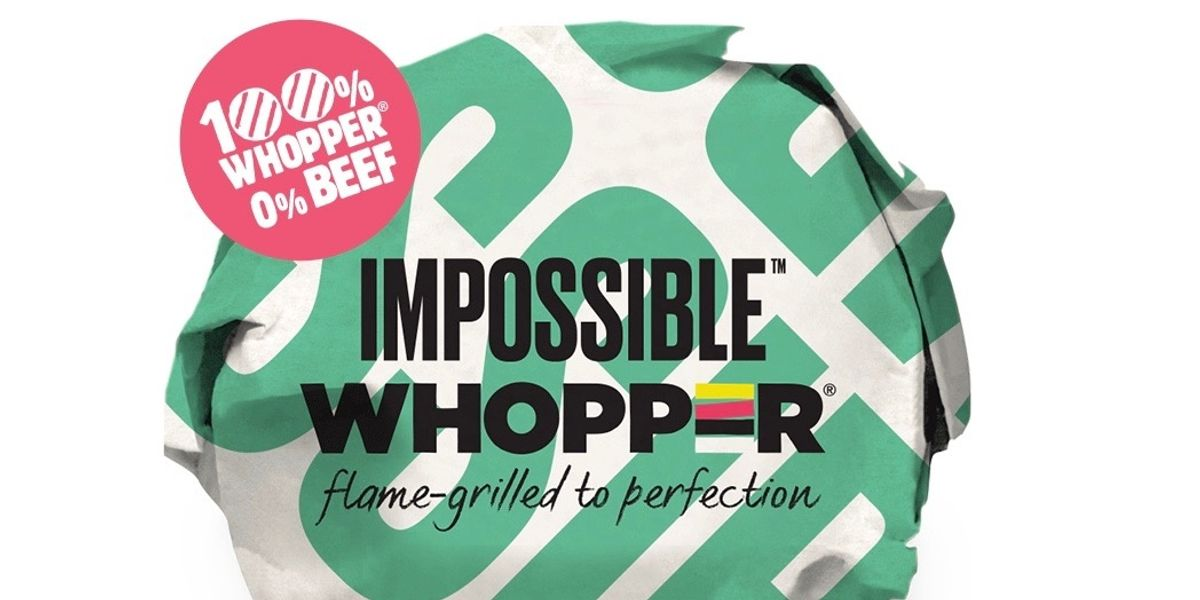 Will Picking The Impossible Whopper Over Beef Help You Stay