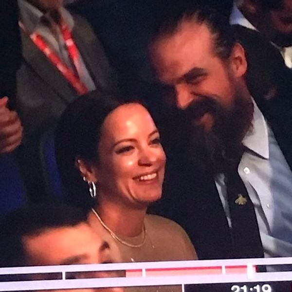 Lily Allen and David Harbour Spotted Out on a Date