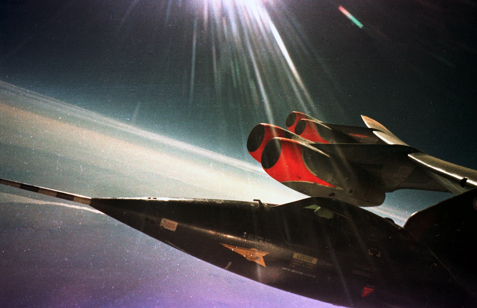 fastest manned aircraft