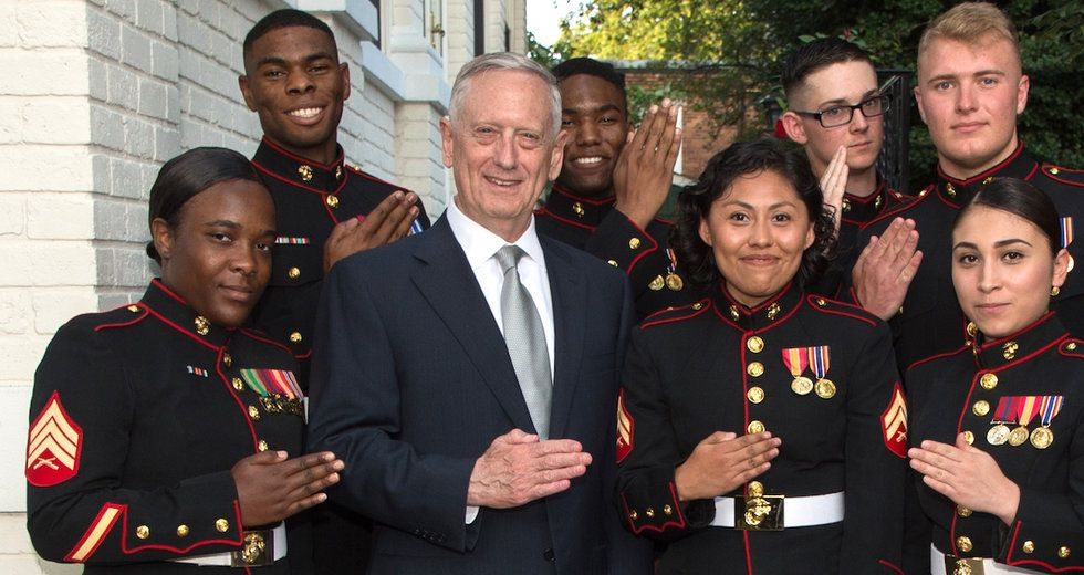 Image result for Mattis Still Has Concerns About Women Serving in Combat Units
