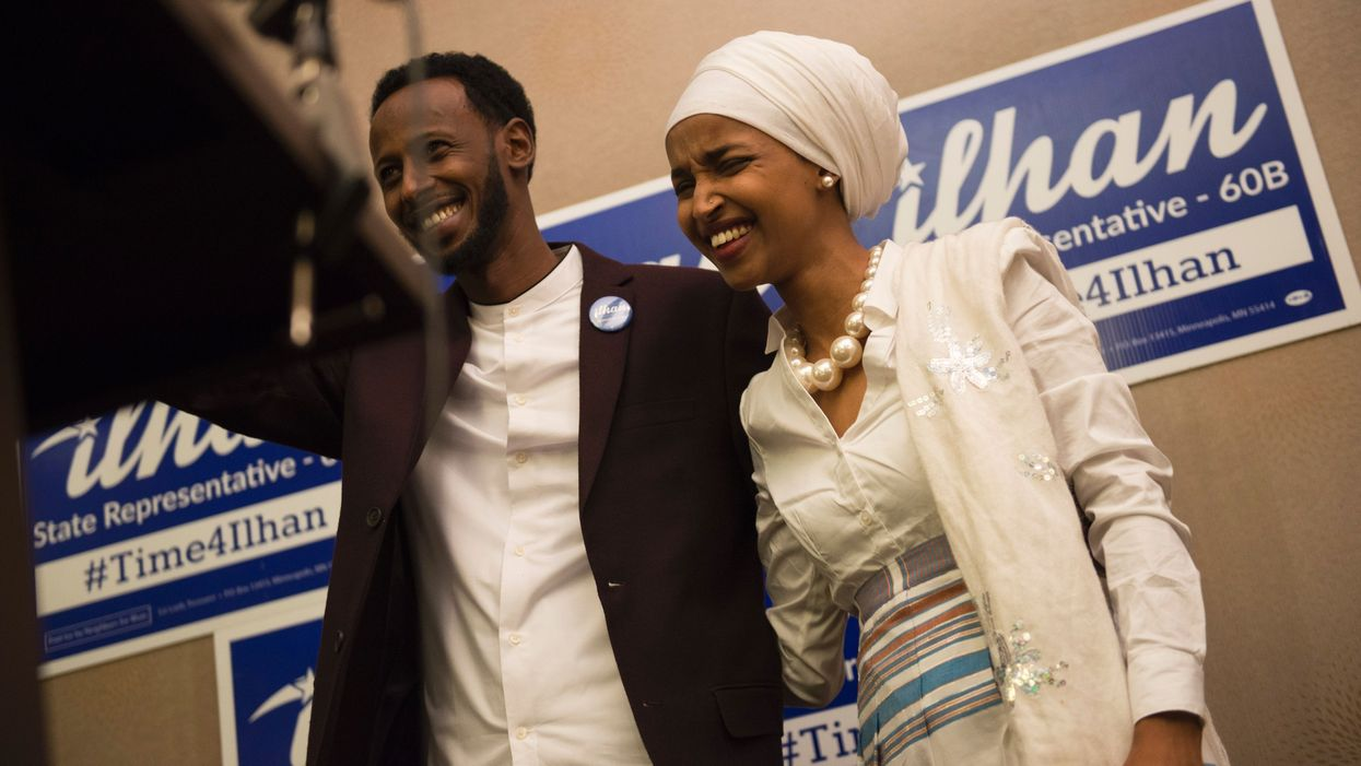 Ilhan Omar's husband wants divorce after alleged affair, claims she married her brother, sources say