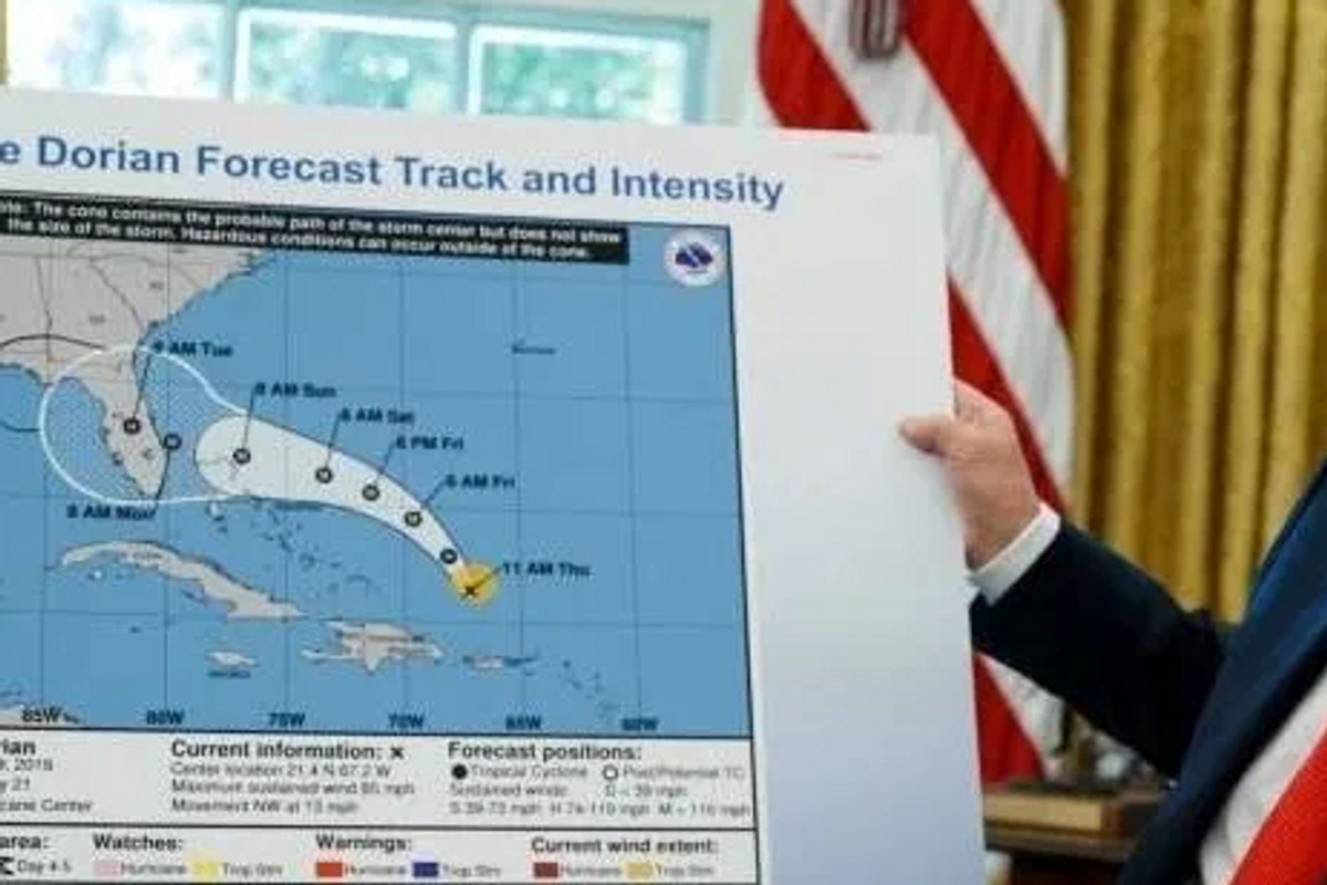 Trump's 'hurricane warning' to Alabama was so wrong it may have literally broken the law