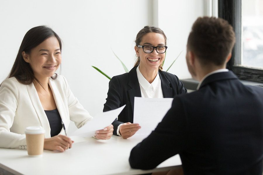 Job seeker conveys they are a good fit for the position