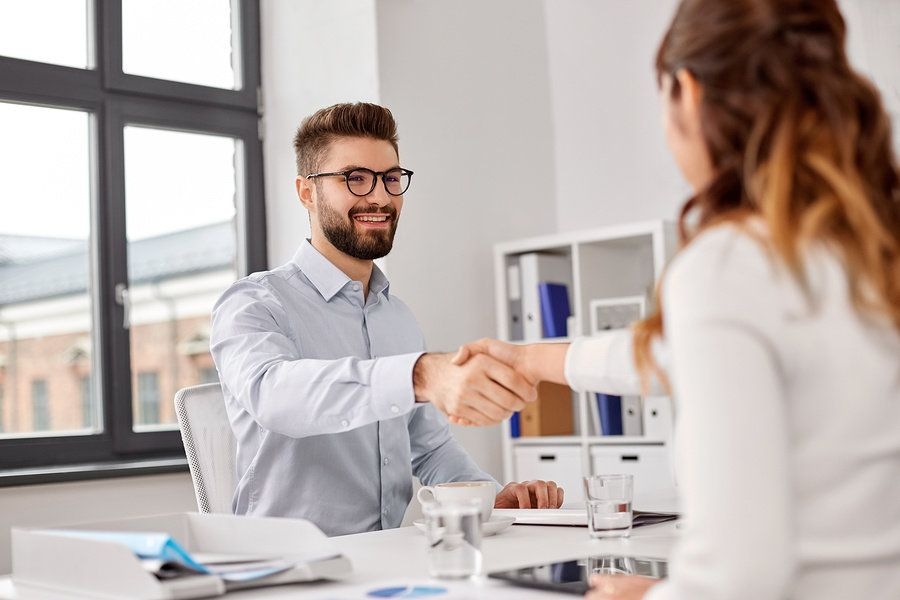 Man getting offered a job after he joined Work It Daily's career growth club and took its career advice and utilized its job search strategy.