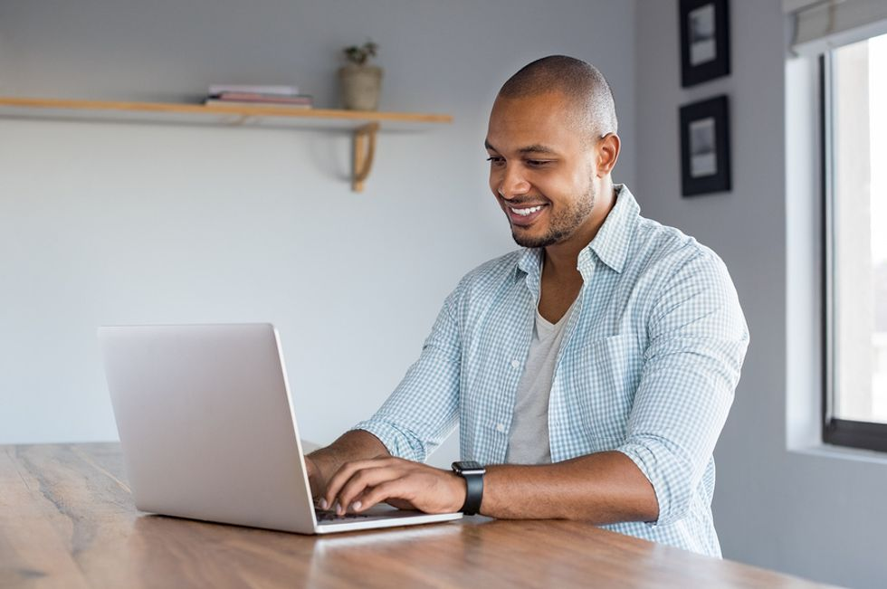 Man joining Work It Daily's career growth club after being let go from his job.