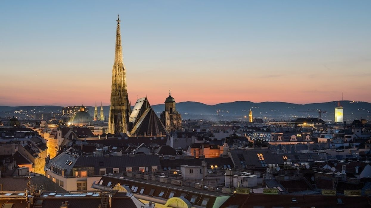 Vienna ranked world's most livable city — for second consecutive year