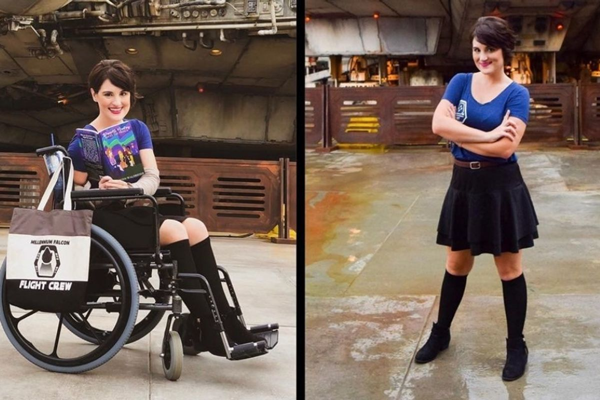 Reminder: Not being able to see someone's disability doesn't mean they don't have one