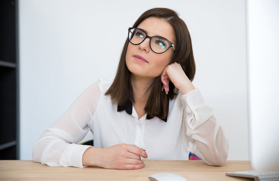 Professional woman planning to leave job in changing job market