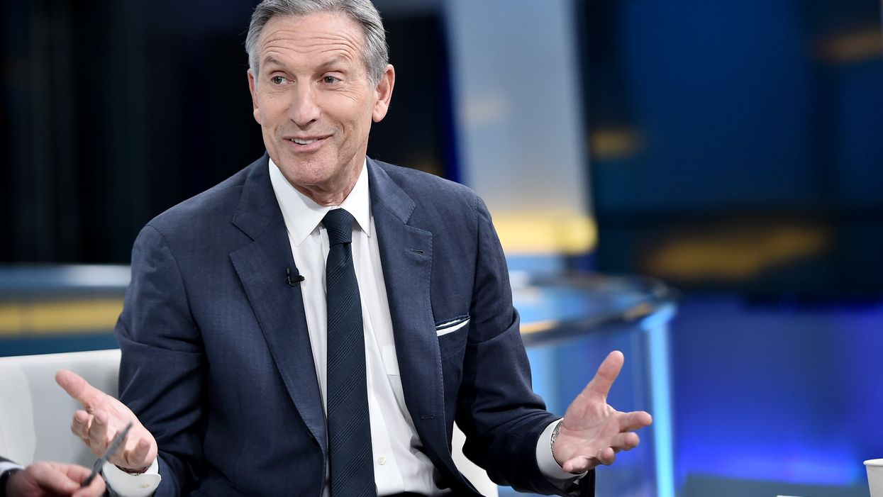 Former Starbucks CEO Howard Schultz suspends plan for independent run for president to make room for a moderate Democrat
