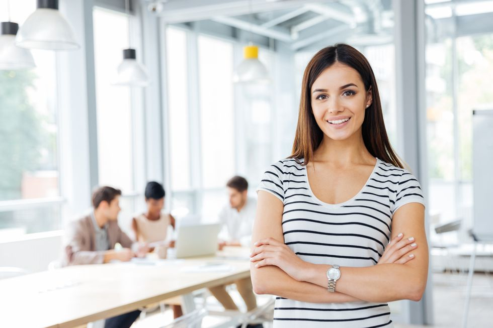 Professional woman building her personal brand