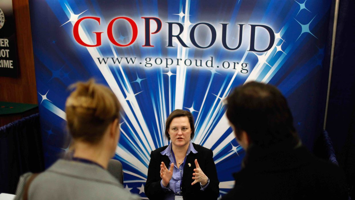 The GOP sold out to the gay agenda long ago. Now they're paying a price for it.