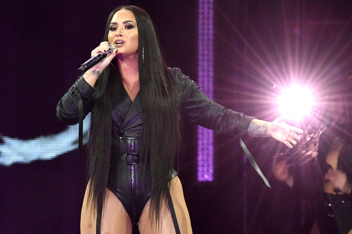 Demi Lovato Faces 'Biggest Fear' With Unedited Bikini Photo