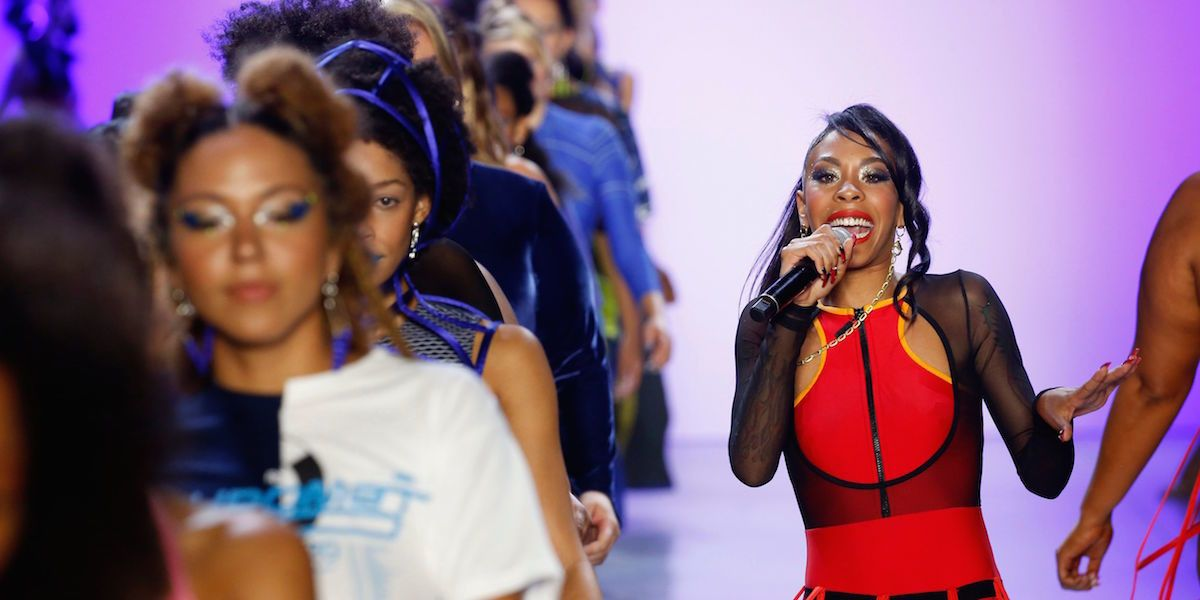 Chromat's Runway Was A Party Hosted By Rico Nasty