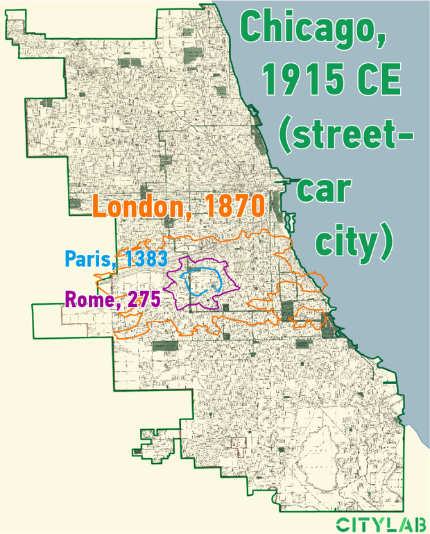 Chicago, Street-car city