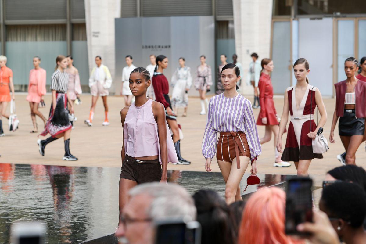 Longchamp Brought Parisian Charm to NYFW
