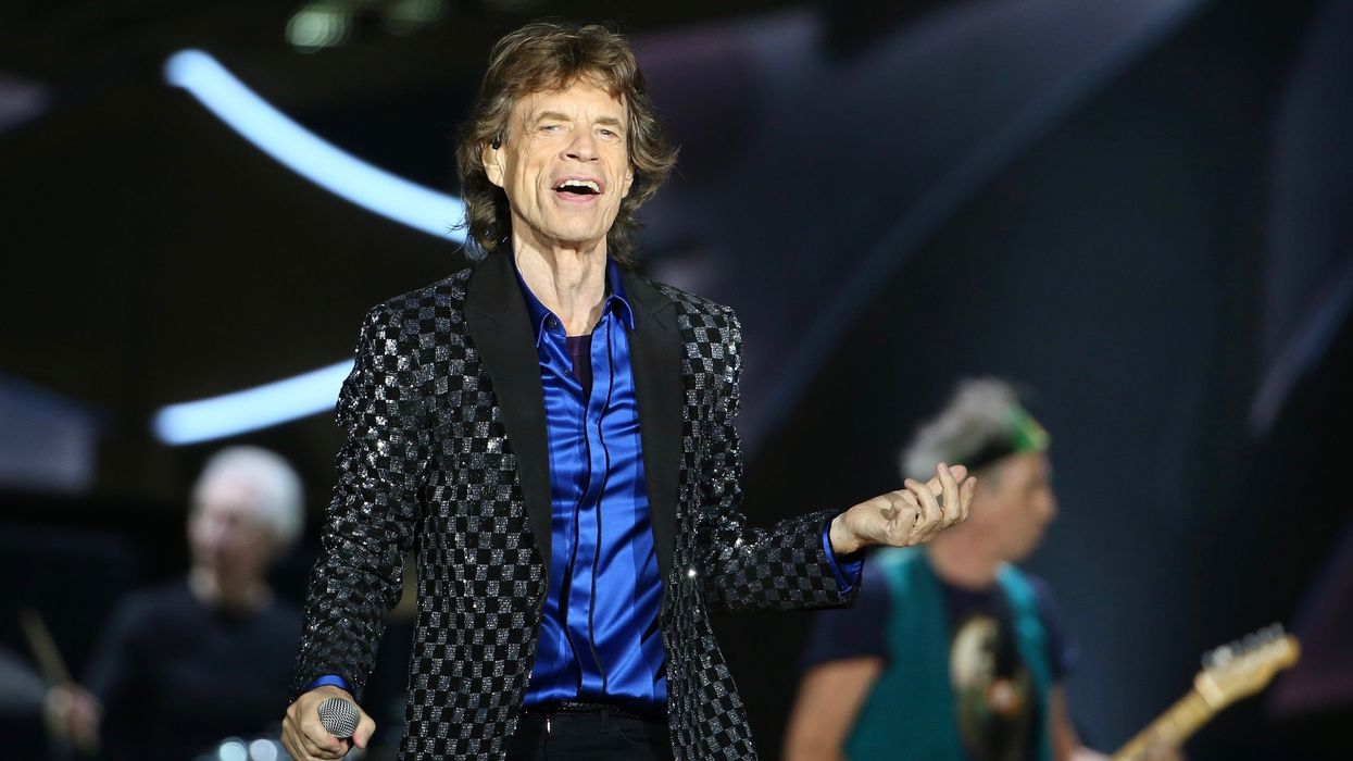 Mick Jagger Sees No Satisfaction in Trump's Environmental Record