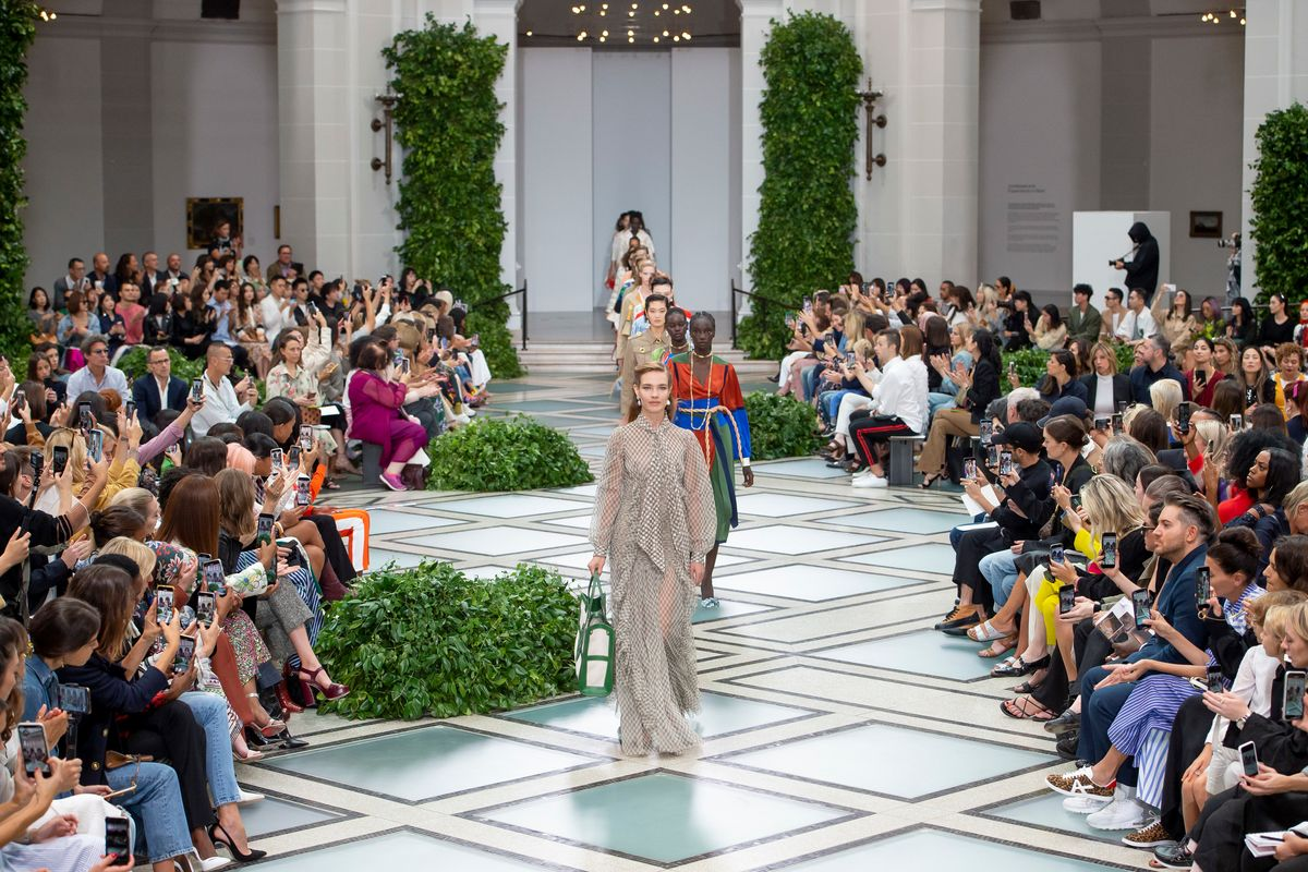 Princess Diana Is Tory Burch's Muse for Spring 2020